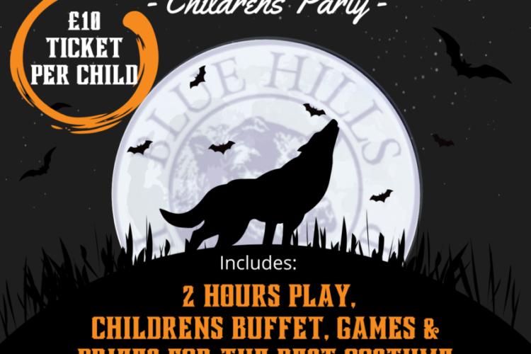 29th October **Halloween** – After Dark Children's Party.